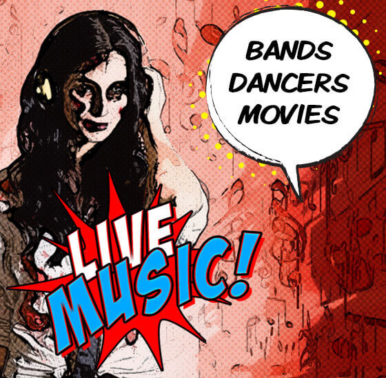 Live Music, Dance Performances and Movies at the Altoona Zombie Festival