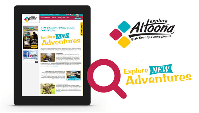 Explore Altoona Destination Marketing Partner
