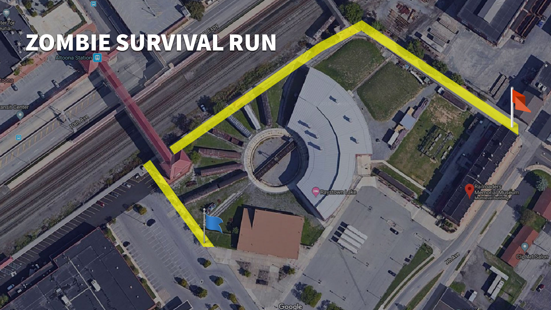 Zombie Survival Run