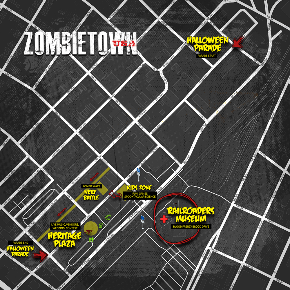ZombieTown Event Map